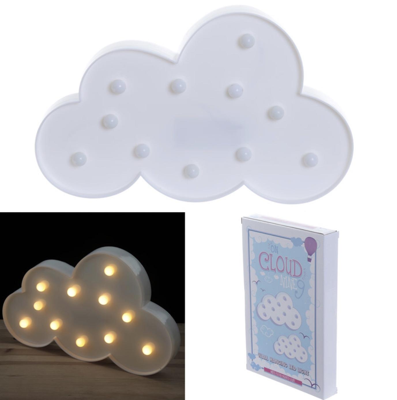Lámpara nube mesita led